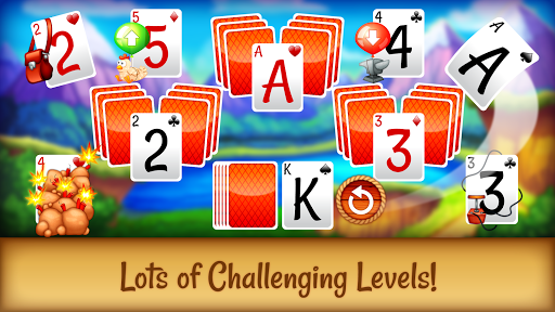 Solitaire Buddies - Tri-Peaks Card Game apkpoly screenshots 2
