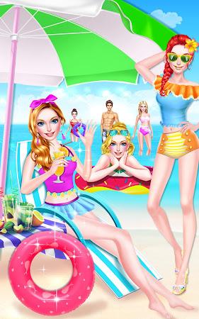 Summer Girl! Beach PARTY Salon 1.2 screenshot 1503289