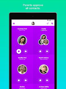 Messenger Kids – Safer Messaging and Video Chat Screenshot