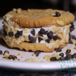 Nutty Ice Cream Sandwiches