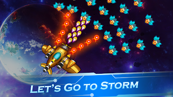 Galaxy Thunderstorm - Space infinity attack