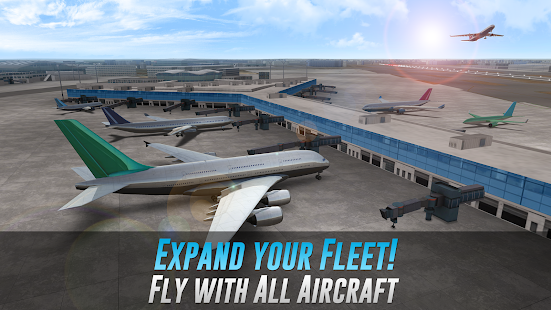 ApkMod1.Com Airline Commander - A Real Flight Experience APK + MOD (Big Rewards) Android free Android Game Simulation