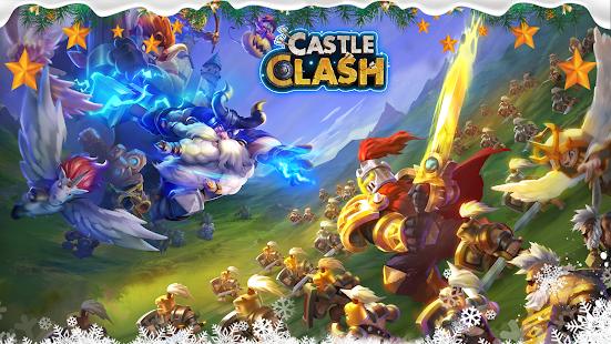 Castle Clash Korkusuz Takımlar - náhled