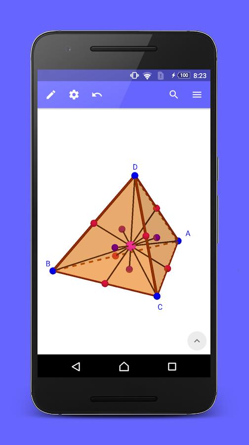 geogebra 3d calculator android apps on google play. Black Bedroom Furniture Sets. Home Design Ideas