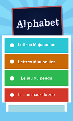 Learning French Alphabet