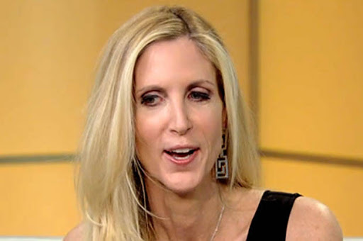 Ann Coulter prepares to jump off the Trump train