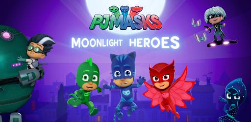 Pj Masks Moonlight Heroes Apps On Google Play