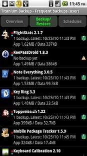 Titanium Backup ★ root needed Screenshot