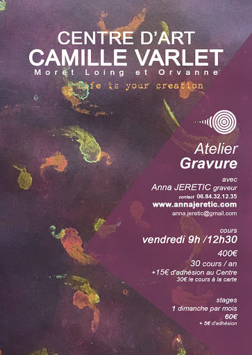 COURS garvure CENTRE D'ART CAMILLE VARLET