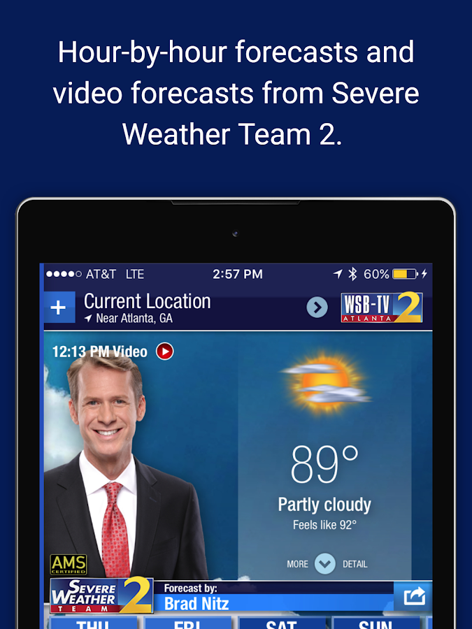 WSBTV Channel 2 Weather- screenshot