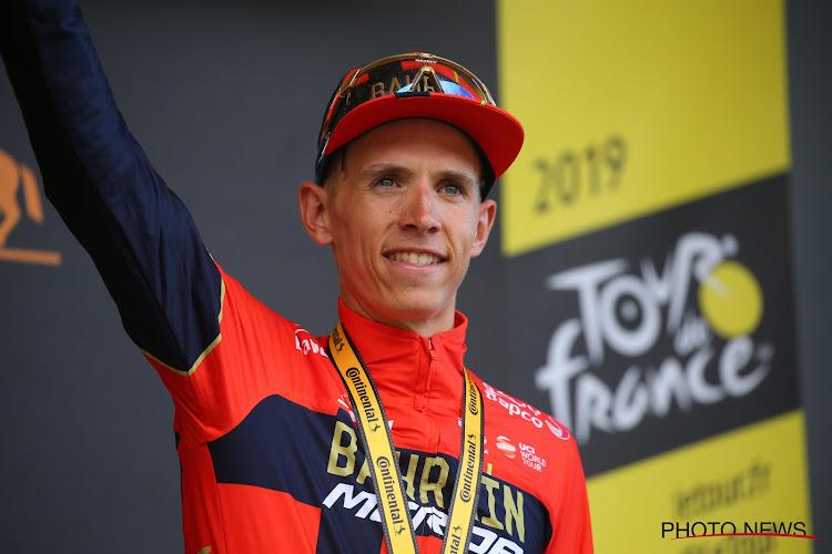 Dylan Teuns présent dans la sélection de Bahrain Merida pour la Vuelta