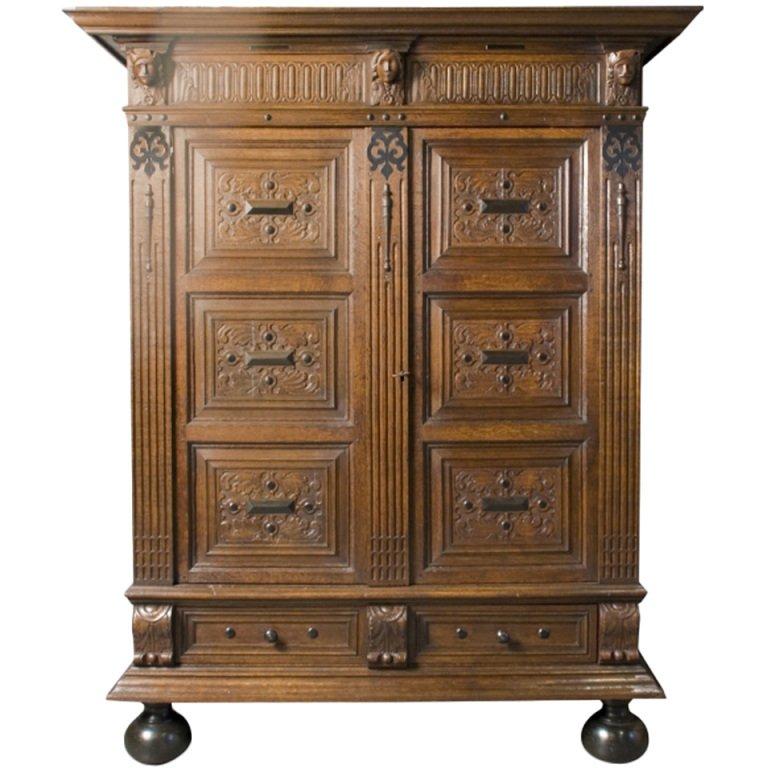Шкаф, Франция, 18 век