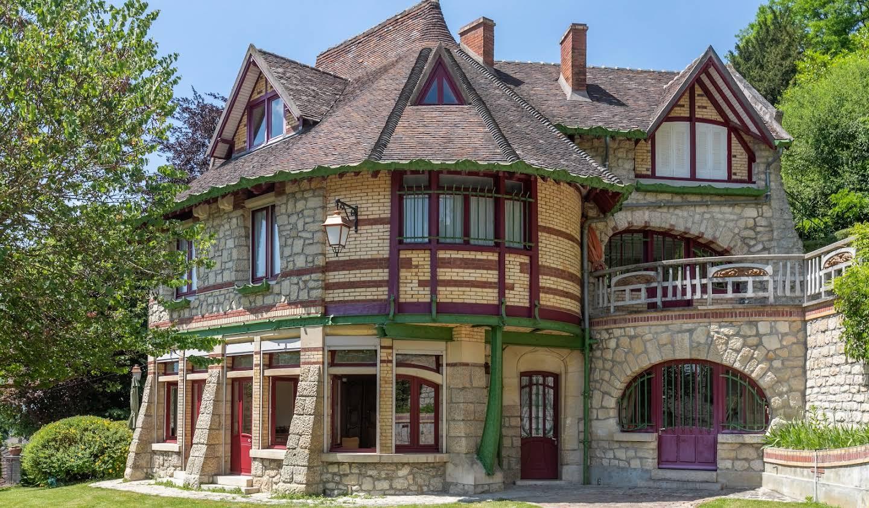 Villa avec jardin et terrasse Auvers-sur-Oise