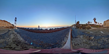 Photo: Calafia Beach Sunset