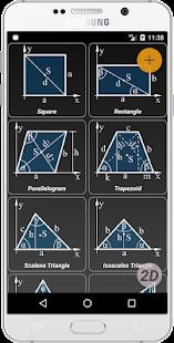 Geometryx: Geometry - Calculator - náhled