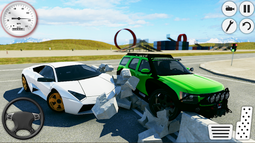Ultimate City Car Crash 2019: Driving Simulator 1.6 screenshots 2