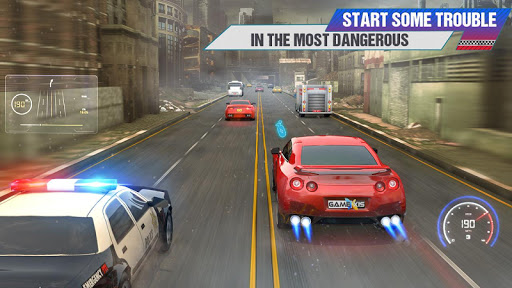 Crazy Car Traffic Racing Games 2020: New Car Games apkslow screenshots 5
