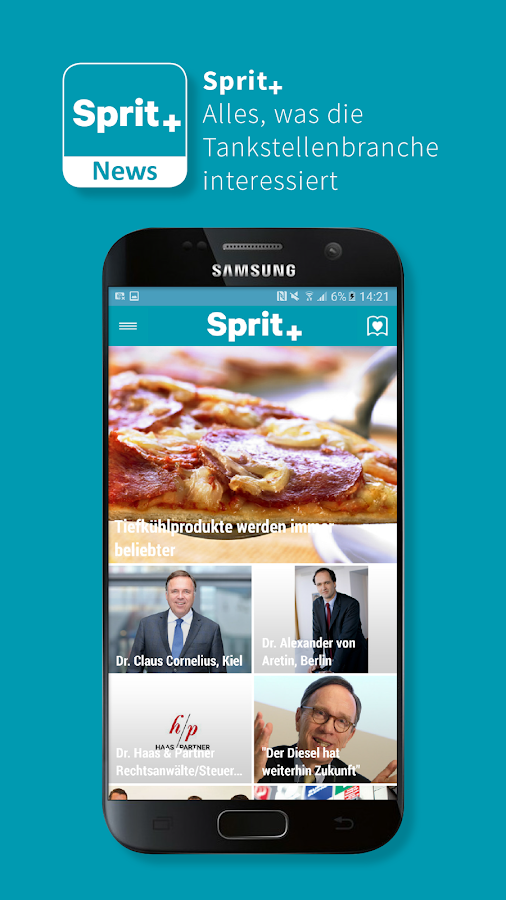 Sprit+ News – Screenshot