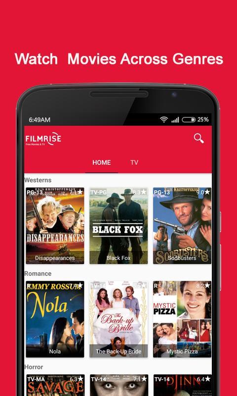 FilmRise - Free Movies & TV screenshots