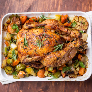 Herb Roasted Turkey with Natural Gravy