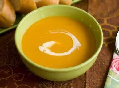 Curried Creamy Butternut Bisque Recipe