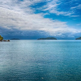 Blue Waters by Pravine Chester - Landscapes Waterscapes ( nature, waterscape, sea, ocean, seascape, landscape, blue waters )