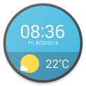 Material Weather Watch Faces icon