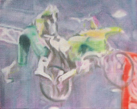 Photo: Young Blood 2007 16 x 20 in oil on canvas