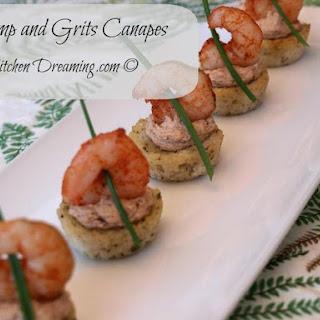 Shrimp & Grits Canapes Recipe
