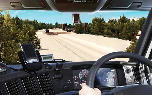 Offroad truck driver 4X4 cargo truck Drive 3D apkmr screenshots 8