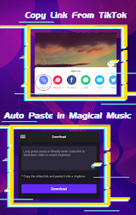 App Magical Music - TikTok Link to Ringtone APK for Windows Phone