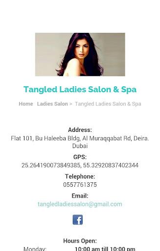 Tangled Ladies Salon