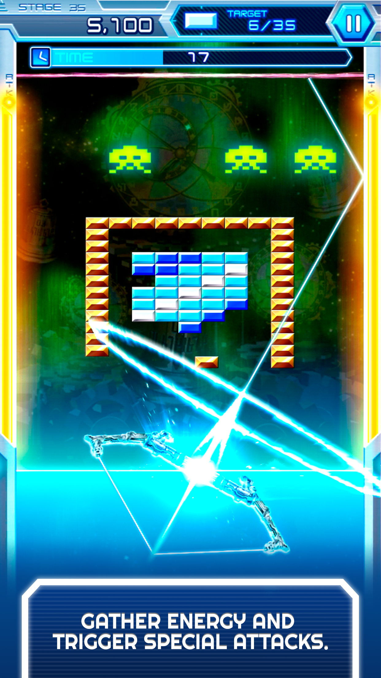 Arkanoid vs Space Invaders screenshot #3