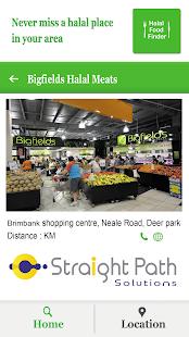 Halal Food Finder - náhled