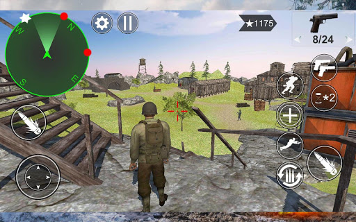 Medal Of War : WW2 Tps Action Game apkpoly screenshots 2
