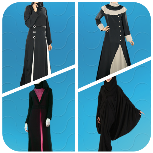 Arab Woman Abayas Photo Suit