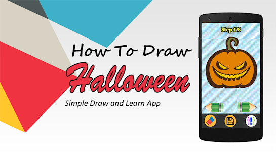how to draw halloween pumpkin - náhled