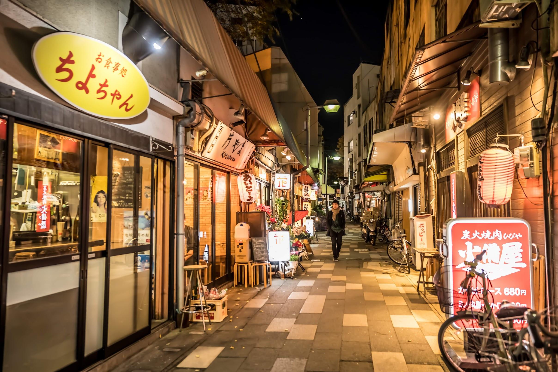 福岡 櫛田神社 夜3