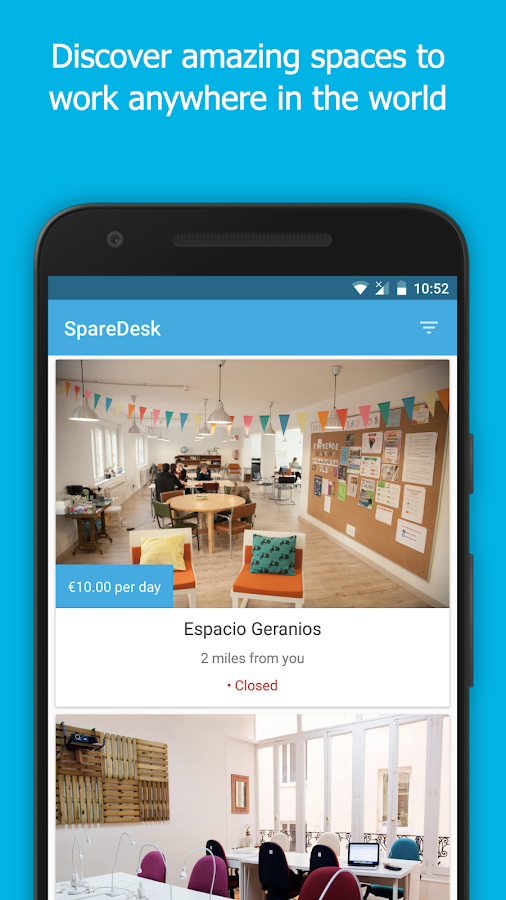 SpareDesk- screenshot