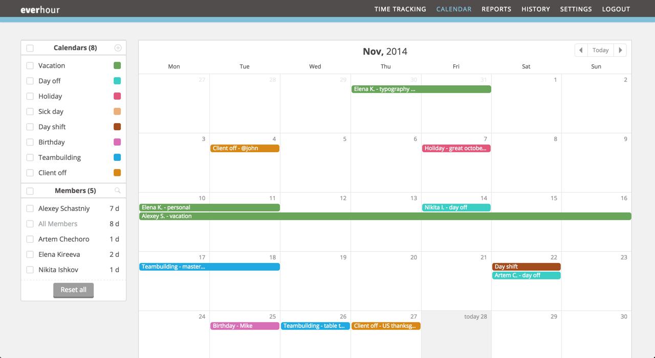 What is a calendar
