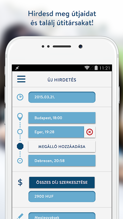 Motar ridesharing- screenshot