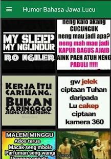 DP Humor Bahasa Jawa Lucu - náhled