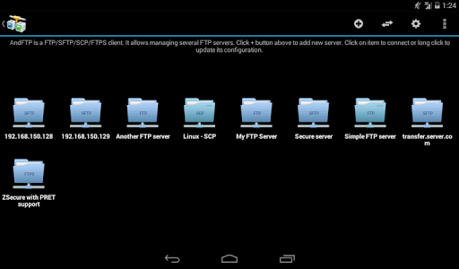 AndFTP screenshot 13