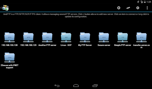 App AndFTP (your FTP client) APK for Windows Phone