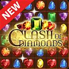 Cтолкновение с бриллиантами матч 3 драгоценностями icon