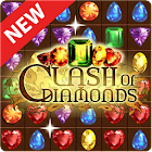 Clash of Diamonds - Match 3 Jewel Games icon