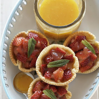 Strawberry and Orange Tarts