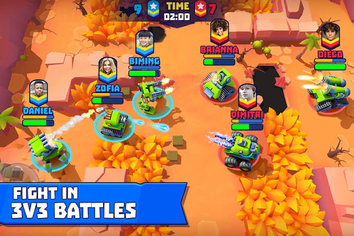Tanks A Lot! - Realtime Multiplayer Battle Arena Android App Screenshot