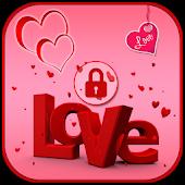 Romentic Love Lock Screen
