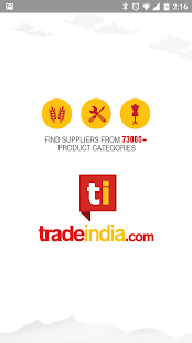 Tradeindia App- screenshot thumbnail
